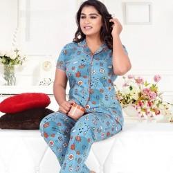 Women Pyjama Suit Cotton