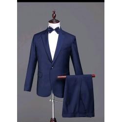 Gold Key suit. Dark blue.
