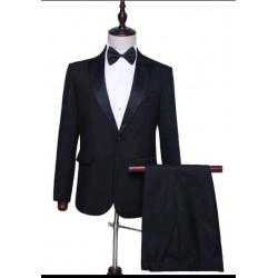 Gold Key suit. Black.