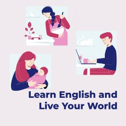 English Proficiency and Training - Spoken English - Level #1 - 2 Classes - Every Saturday 3PM (GMT+3)