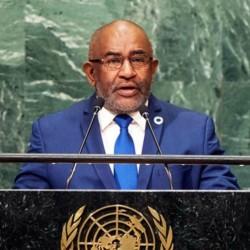 Azali Assoumani Speech